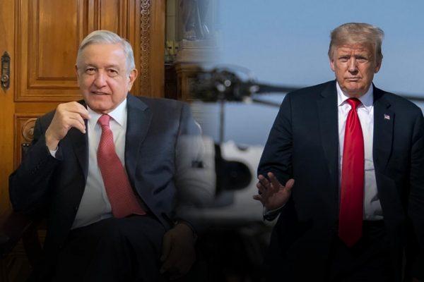 Trump recibe en la Casa Blanca a su «amigo» López Obrador en medio de críticas