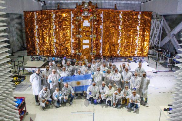 Argentina se alista para el hito de lanzar un nuevo satélite desde EE.UU