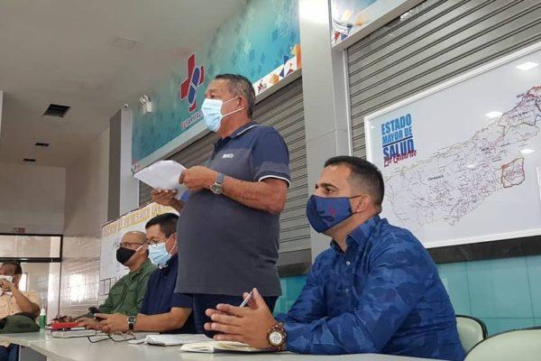 Gobernador anuncia cerco epidemiológico en La Guaira tras contagio en empresa de alimentos