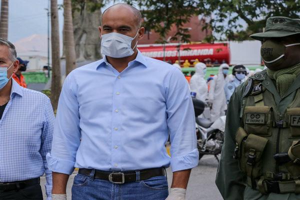 Gobernador de Miranda dio positivo por covid-19 por segunda vez