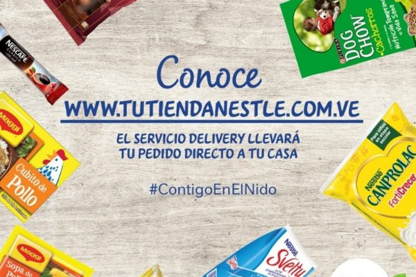 Nestlé habilita página web para ofrecer servicio de delivery