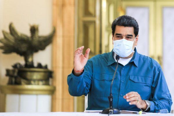 Maduro asegura que Venezuela encontró un medicamento que anula al 100% el COVID-19