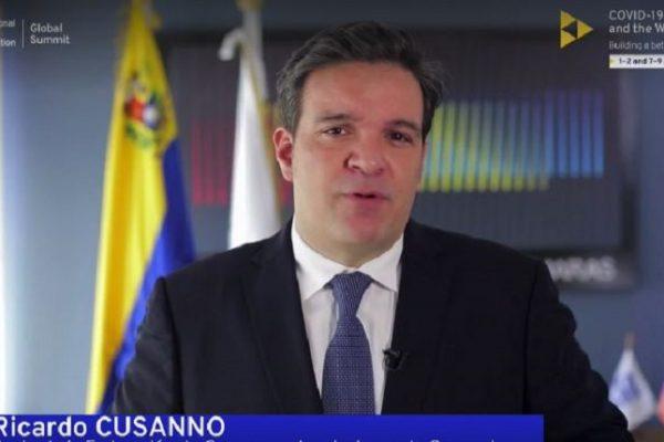 Cusanno en cumbre OIT: Diatriba política impide acceder a financiamiento para enfrentar la pandemia