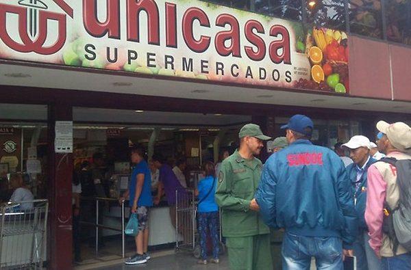 Autorizan reapertura del automercado Unicasa de La Candelaria