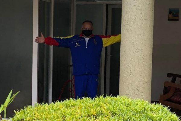 Diosdado Cabello afirma que fue dado de alta, «pero debe seguir en cuarentena»