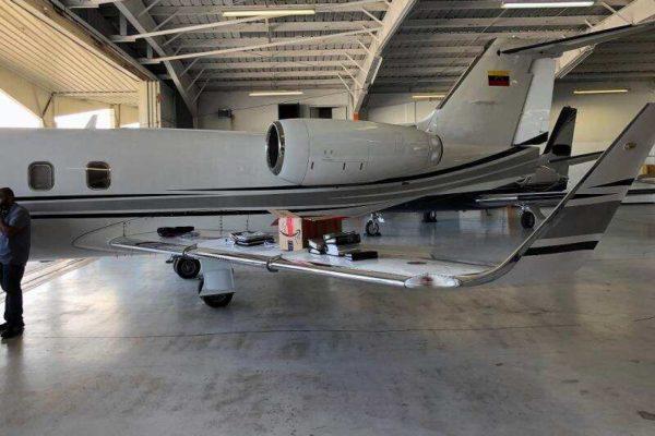Paparoni: avión incautado en EEUU pertenece a piloto de socio de Álex Saab