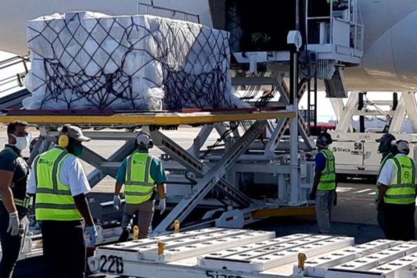 Venezuela recibe 73 toneladas de ayuda humanitaria procedente de la UE