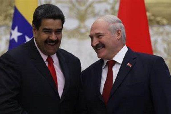 Maduro condecora a embajador bielorruso en ostensible muestra de apoyo a Lukashenko