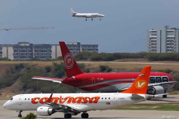 Demanda de combustible de avión cayó 66% en Venezuela durante la pandemia