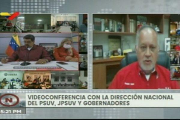 En 15 días regresa Diosdado Cabello «con el mazo dando»