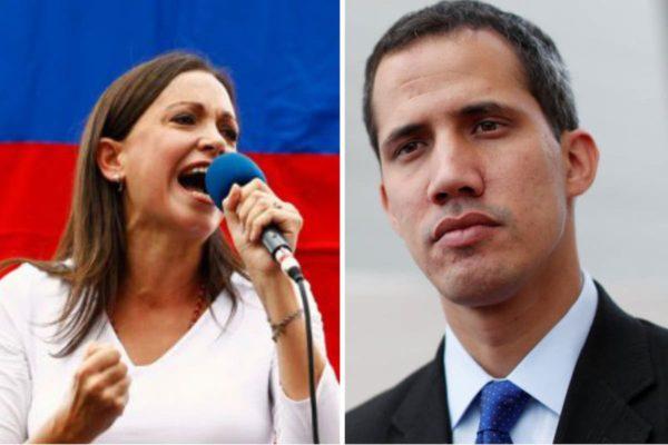 Juan Guaidó y María Corina Machado abordarán pacto unitario este #29Ago