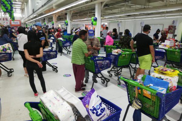 Trabajador de supermercado