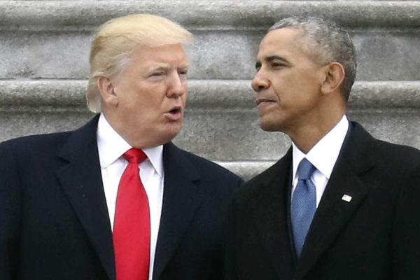 Obama sostiene que Trump