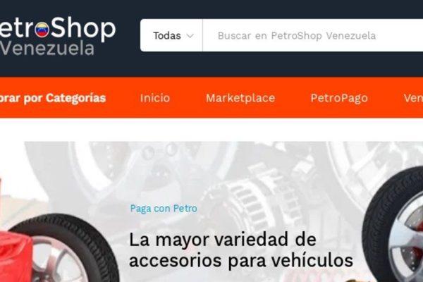 Conozca la plataforma venezolana que intenta imitar a Mercado Libre con pagos solo en Petros