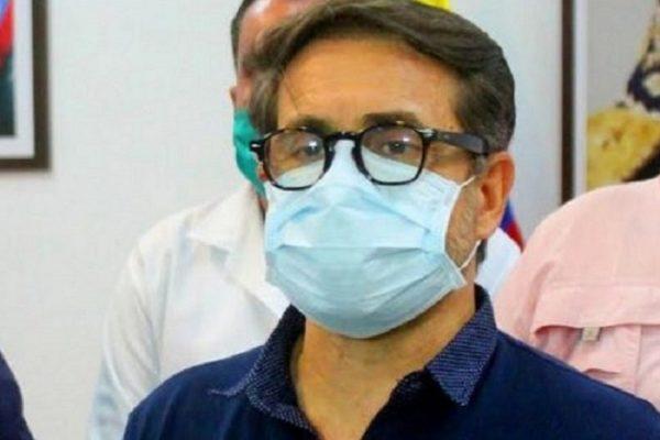 Gobernador de Carabobo también dio positivo por coronavirus