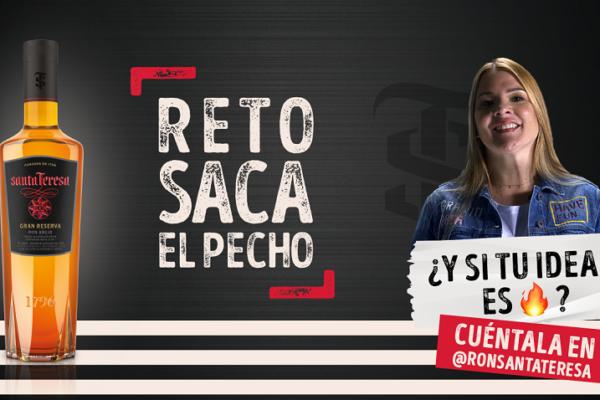 Reto Saca el Pecho de Ron Santa Teresa para emprendedores recibe postulaciones hasta el #04Sep