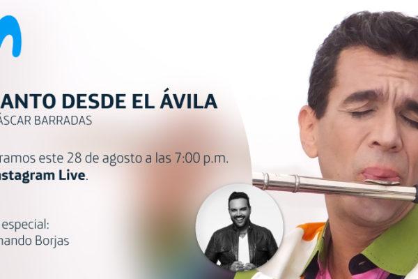 """Movistar se une a Huáscar Barradas para llevar """"Un canto desde el Ávila"""" a los hogares venezolanos"""