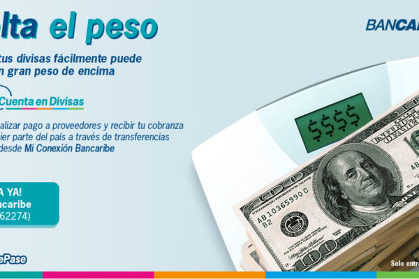Bancaribe ofrece a empresas cuentas en divisas que permiten movilizar fondos vía electrónica