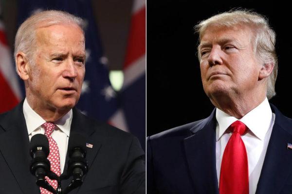 Trump y Biden, dos rivales en tregua en el aniversario de los atentados del 11/9