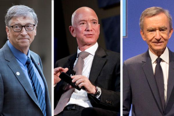 Los multimillonarios que alcanzaron fortunas de US$100 mil millones o más