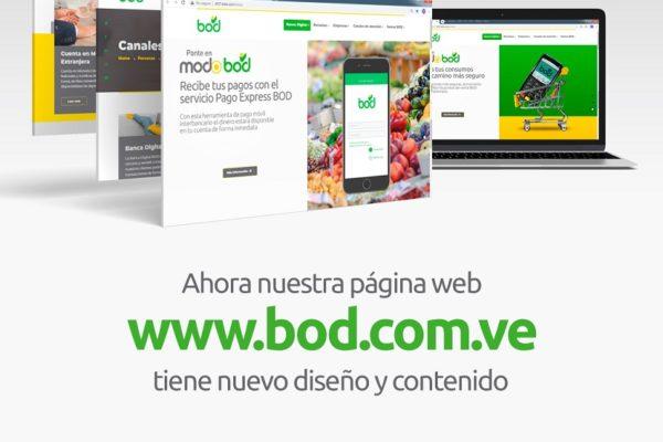BOD muestra su nueva imagen en la web
