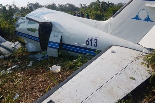 Accidente de avión con droga de Venezuela deja dos muertos en Guatemala