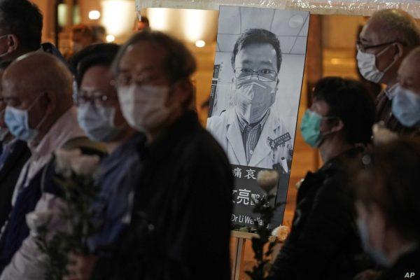 Médico que alertó sobre #Covid19 queda excluido del homenaje chino a su personal médico