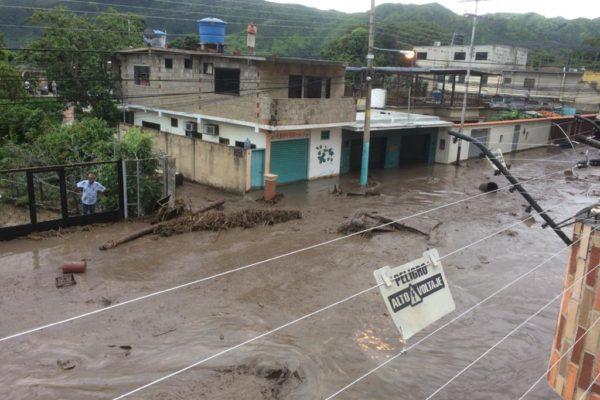 Luego de 33 años: Lluvias reviven temores de la tragedia de El Limón en Aragua