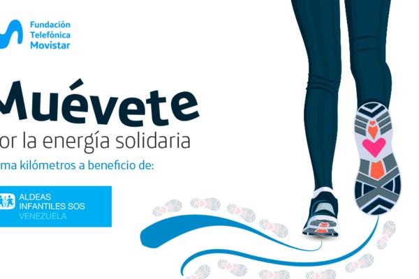 Fundación Telefónica Movistar invita a sumar kilómetros solidarios por Aldeas Infantiles SOS Venezuela