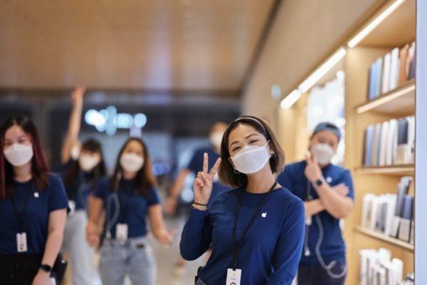 Apple lanza sus mascarillas Face Mask, por el momento solo para sus trabajadores