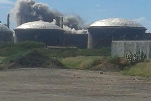 Stefanelli: explosión en refinería de Amuay genera severos daños en la planta