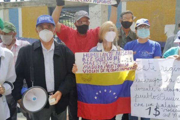 Docentes en Táchira denunciaron que les vulneran el derecho a la salud