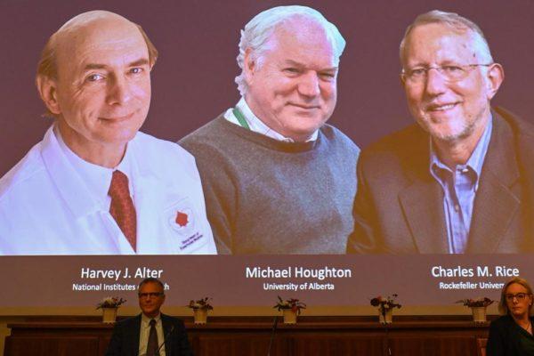 Estos son los ganadores del Nobel de Medicina por descubrir el virus de la hepatitis C