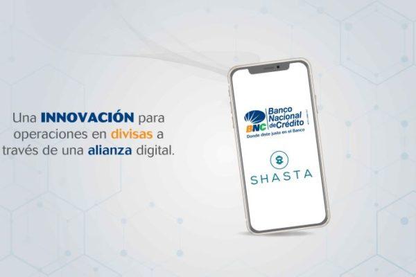 BNC y Shasta Technologies se alían para facilitar operaciones con divisas entre Venezuela y Europa