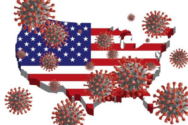 Estados Unidos supera 18 millones de casos de covid-19