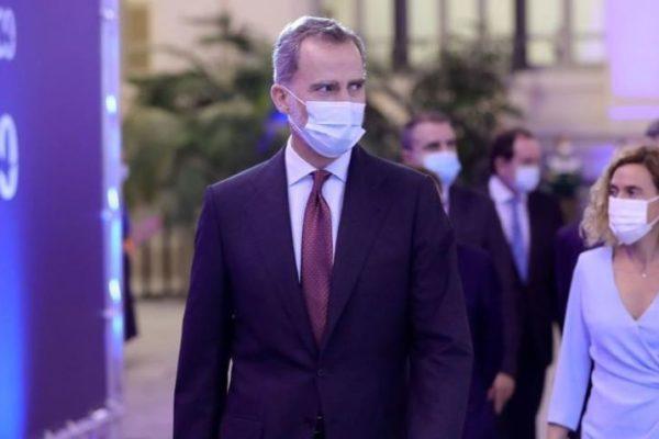 Rey de España está en cuarentena preventiva por riesgo de covid-19