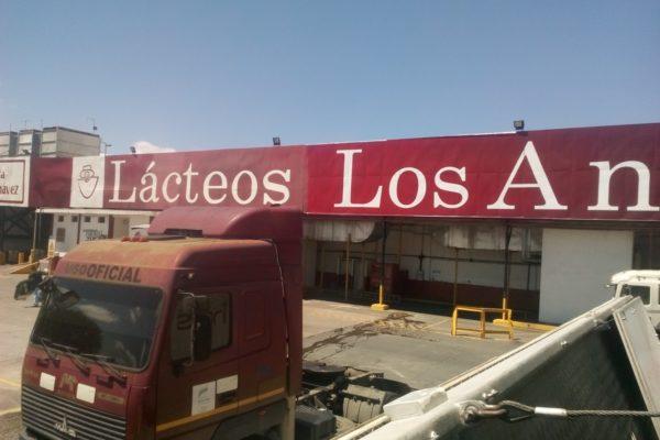Denuncian que cientos de litros de leche dañada 'salen de Lácteos Los Andes'