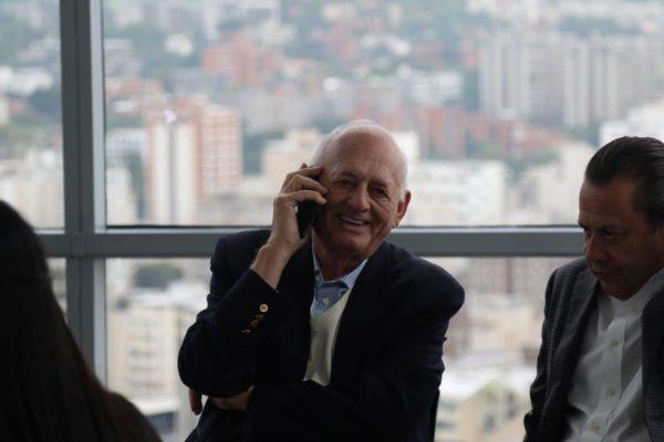 Falleció el empresario y presidente de Digitel Oswaldo Cisneros: esta es su trayectoria