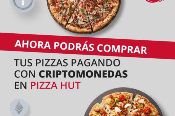 Pizza Hut comienza a aceptar pagos con criptomonedas en Venezuela