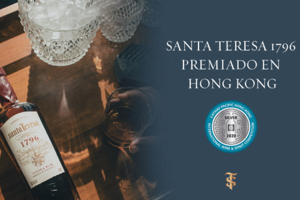 Ron Santa Teresa recibe galardón internacional en Hong Kong