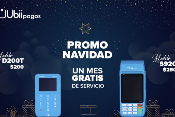 Ubii Pagos lanza promoción navideña: un mes de servicio gratis por equipos nuevos