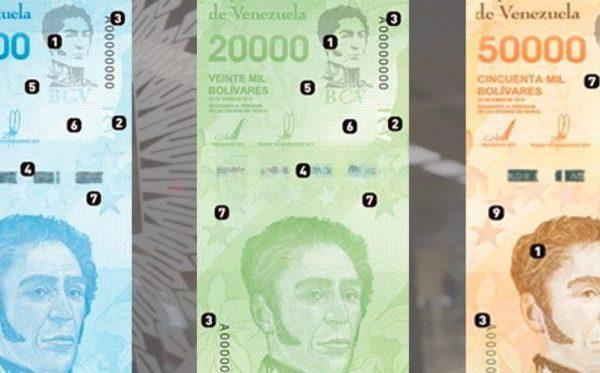 El BCV desmaterializa al bolívar: conozca cuántos billetes circulan en Venezuela