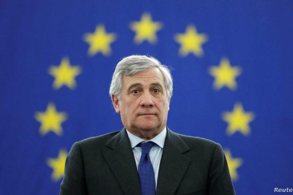 Tajani respalda a Guaidó y su iniciativa para defender los DD.HH en Venezuela