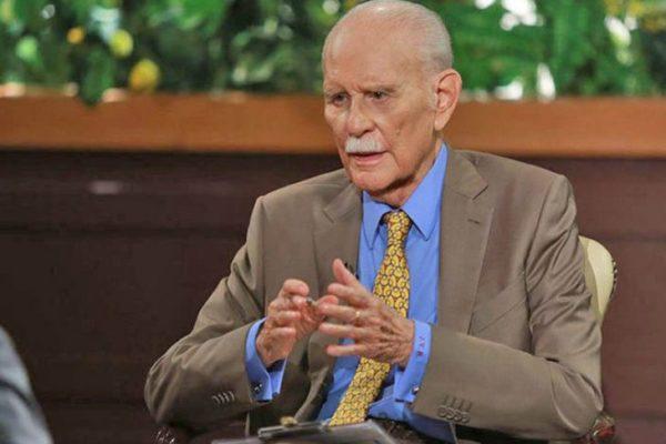 Falleció el político José Vicente Rangel a sus 91 años