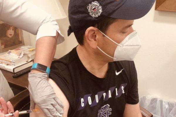 «Es segura y eficaz»: Marco Rubio recibió la vacuna contra el Covid-19