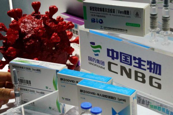 Llegaron al país 500.000 dosis de la vacuna china en vuelo de Conviasa este #1Marzo