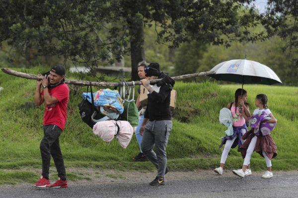 Al menos 161 venezolanos llegaron a Colombia tras enfrentamientos en la frontera