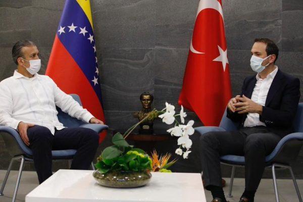 Venezuela y Turquía fortalecen cooperación energética: «Vienen nuevos tiempos»