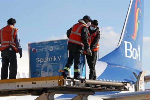 Bolivia recibió 20.000 vacunas Sputnik V contra la Covid-19: Fue el primer cargamento