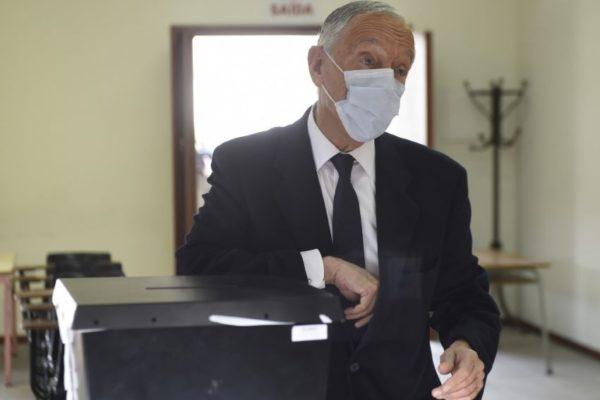 Pandemia impuso abstención de 61,6%: Marcelo Rebelo de Sousa fue reelecto presidente de Portugal